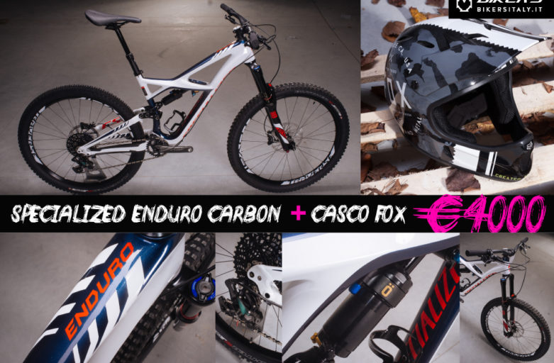 PROMO SPECIALIZED ENDURO CARBON 2016