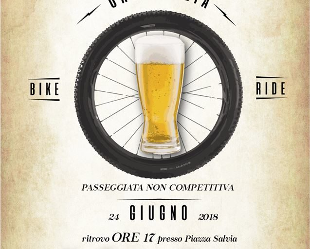 Aperitivo in bici all'urbeers 24-06-2018