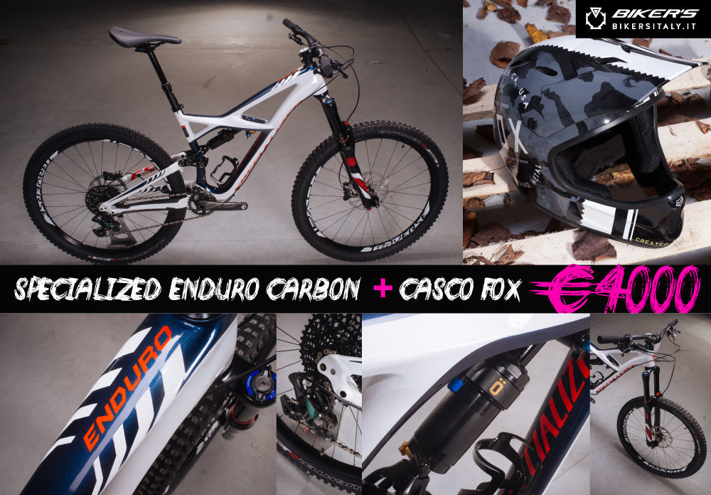 PROMO SPECIALIZED ENDURO CARBON 2016