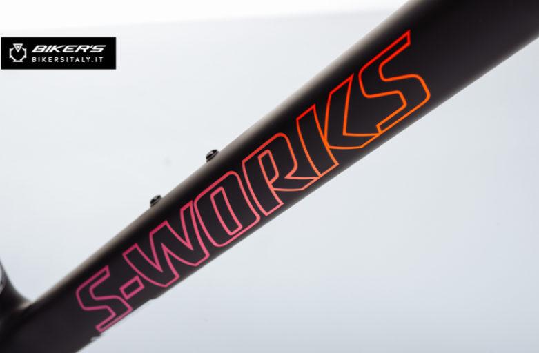 TARMAC S-WORKS Nero/Rosa Fluo/Rosso